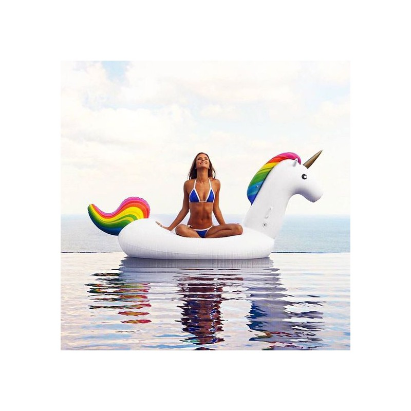 beach toy matelas gonflable bou e g ante licorne pool party. Black Bedroom Furniture Sets. Home Design Ideas