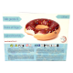 Chocolate Donut inflatable pool float