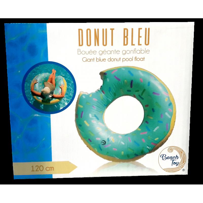 beach toy bou e g ante gonflable donut bleu. Black Bedroom Furniture Sets. Home Design Ideas