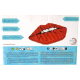 Giant inflatable pool float Red Lips