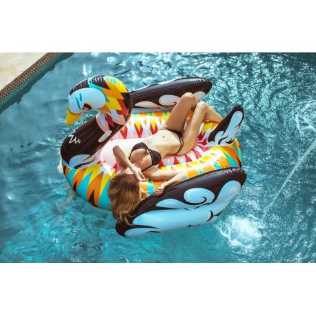 Cigno Multicolore Galleggiante gigante piscina